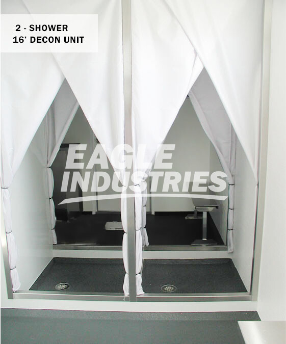 Decon Shower Trailers Eagle Industries