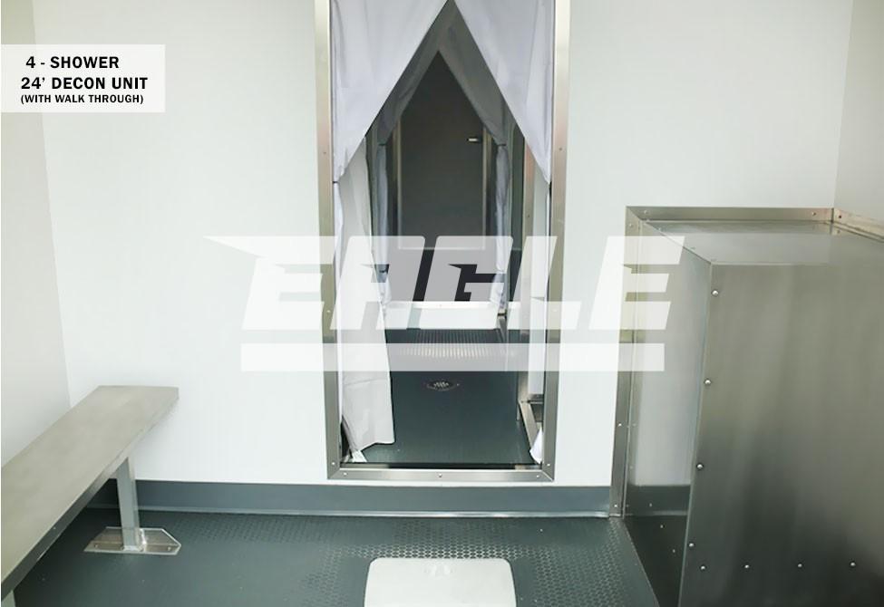 Decon Shower Trailers Eagle Industries