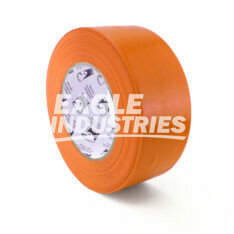 Orange Safety Poly Tape