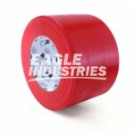 Red Vapor Barrier Poly Tape